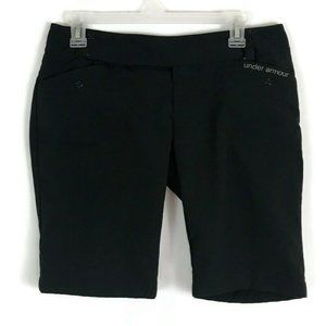 Under Armour Womens Shorts 4 Black Performance